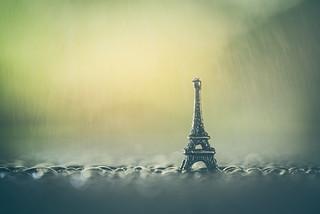 Rain over Paris