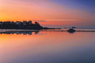 Classic Dinard sunset