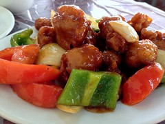 Sweet and sour pork from Chan Seng Kei Restaurant @ Coloane in  Macau (Fuyuhiko) Tags: from cuisine restaurant kei sweet pork chan macau cantonese sour soar seng  coloane      katonese