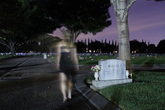 3 (amandariot21) Tags: girl cemetery grave graveyard night self dark walking dead model spirit walk ghost tombstone soul haunting ghosts haunt