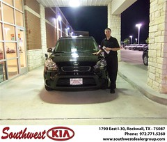 Southwest KIA of Rockwall would like to wish a Happy Anniversary to Misty Jones on your 2012 Kia Soul (Southwest Kia Rockwall) Tags: new southwest car sedan truck wagon happy dallas texas tx used vehicles mesquite bday dfw kia van suv coupe rockwall dealership hatchback dealer customers minvan 4dr metroplex shouts 2dr preowned