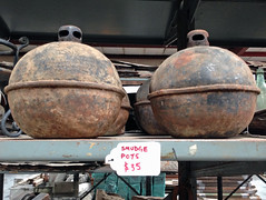 Smudge Pots (NatalieMaynor) Tags: mississippi jackson smudgepots oldhousedepot