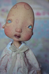 Ernestine (Nickocha) Tags: portrait glass make up ball outfit eyes doll close lace bjd kane humpty dumpty dentelle capuccino lullaby jointed nefer