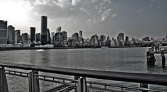 New York City Skyline taken fron Gantry State Park, Queens, NYC (dekard72) Tags: park new york city nyc newyorkcity bridge newyork skyline river nikon state manhattan east queens eastriver queensborough gantry gantrystatepark fauxhdr d7000 nikond7000