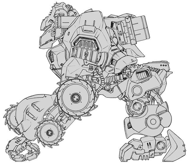 threezero × Takara Tomy - ZOIDS 系列:Shield Liger & Iron Kong
