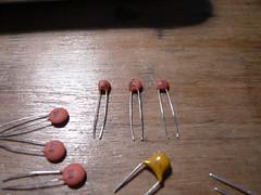 Capacitors (indiamos) Tags: electronics freeduino