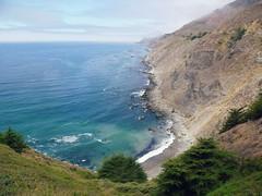 Big Sur (ale.usa) Tags: ocean california blue sea summer sky cliff usa america 1 highwayone pacific bigsur