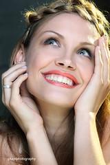 Pearlies (pluckphotography) Tags: portrait smile pose model teeth blond jordondefriend