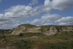 Theodore Roosevelt NP 1 (FiddleHiker) Tags: sky usa clouds erosion northdakota badlands prairie grasslands theodorerooseveltnationalpark photocontesttnc13