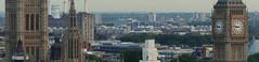 Londres, vue d'en haut - Above London (blafond) Tags: above london skyline view bigben londres parlement vue overview