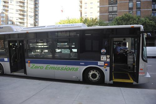 usa ny buses manhattan newyorkcitytransit bydelectricbus