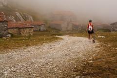 Por la vega. (Manuelbv) Tags: gloria caminar montaa vega niebla picos sotres
