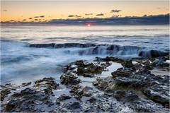 Winter's treasure (Darkelf Photography) Tags: ocean sunset seascape beach clouds canon landscape photography evening rocks dusk indian tripod north australia filter perth western cottesloe 1740mm maciek darkelf 2013 5dii gornisiewicz winterstreasure