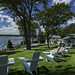 Spruce Point Inn Ospery lawn chairs