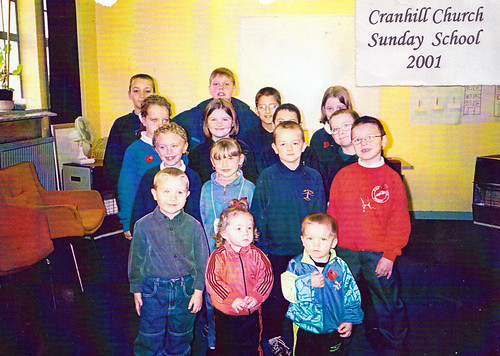 Cranhill Church Sunday School 2001
