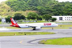 PT-MXF TAM Linhas Areas Airbus A321-231 - cn 4352 (Diegonvs) Tags: touch airbus recife panning tam a320 a321 guararapes sbrf ptmxf