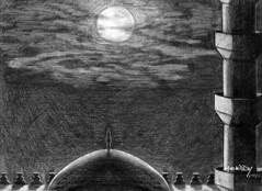 دراسة بالقلم الرصاص 06 (Hossam ElKady) Tags: blackandwhite art architecture drawing contemporary egypt dome sketches مصر مسجد فن فنان قبة حسام hossam رسم hosam الرصاص فنون معاصر رسام elkady القاضى تشكيلى hossamelkady حسامالقاضى القلمالرصاص elkadi