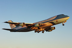 29000 Air Force One VC-25A(747-2G4B) taking off in KCLE (GeorgeM757) Tags: airplane airport aircraft airforceone boeing usairforce clevelandhopkins avaition vc25a kcle 7472g4b alltypesoftransport