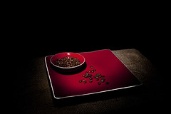 024100-54-Still Life Coffee-10 (Jim Beatniks are out to make it rich) Tags: pictures blue red food color coffee photography drink photos flash plate pic bowl bean steam canon5d 40mm 2013 ilo