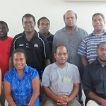 Honiara training group photo 1 Oct 2013