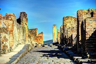 Pompeii, Italy - archeological site - UNESCO World Heritage