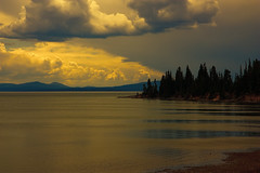 Yellowstone lake (rudi.segers) Tags: nationalpark yellowstone