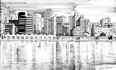 Porto Alegre vista do Guaíba