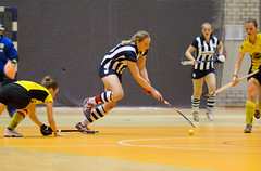 P1110705 (roel.ubels) Tags: hockey sport rotterdam indoor 2014 zaalhockey hoofdklasse topsportcentrum