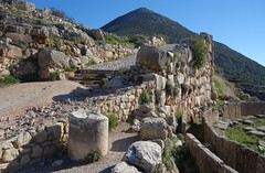 Ramp within walls, Mycenae