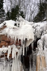 Icy Cliff (flores.david84) Tags: winter lake ice islands superior roadtrip caves icicles apostle gitchegumee