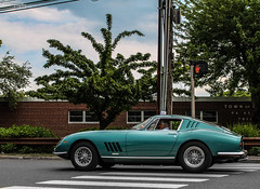 Ferrari 275 GTB (Rivitography) Tags: blue classic car canon vintage rebel italian turquoise connecticut greenwich fast ferrari exotic adobe t3 expensive rare supercar horsepower gtb lightroom 275 2013 rivitography
