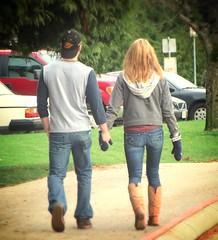(ManontheStreet2day) Tags: boy ass hoodie couple wallet butt hunk twink jeans cap bluejeans stud
