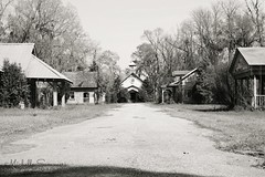 (SouthernHippie) Tags: bw church decay south urbandecay alabama southern ruraldecay spectre smalltown bigfish mayberry primitive abandonedtown