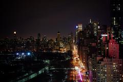 All of the lights (dsavvakos) Tags: nyc nightphotography usa newyork night skyscraper centralpark nightsky zeiss35mm sonya7r