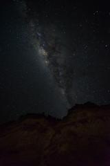 Milk Cliffs (ajecaldwell11) Tags: light newzealand sky stars astrophotography hawkesbay milkyway
