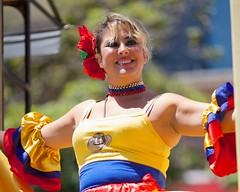 Tambores de Colombia - 2014 San Francisco Carnaval Grand Parade (--Mark--) Tags: sf sanfrancisco carnival photos fotos mission carnaval skipped canonef135mmf2l 36thannual sanfranciscocarnavalgrandparade larumbadelacopamundialcelebrationoftheworldcup