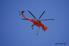 Erickson Air-Crane (AZ Ashman 88) Tags: waterdrop sedona sedonaaz ericksonaircrane nikond40 slidefire fireoperations 21may2014