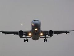 Flyg landar på el Prat