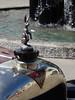 1926 Alvis 12/50 TE Tourer (Home Land & Sea) Tags: old newzealand car emblem hare mascot nz napier pointshoot hoodornament sonycybershot alvis hawkesbay 1250 1926 2015 radiatorcap artdecoweekend homelandsea dschx100v