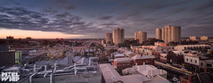 blue hour fitzroy_carlton_06_2015- (pixelwhip) Tags: blue sunset panorama canon long exposure carlton collingwood fitzroy hour hdr tse 5d3 pixelwhip