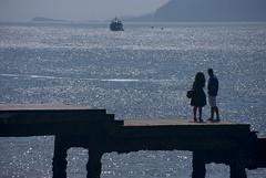 El adiós (javipaper) Tags: puerto mar despedida cantabria santoña adiós cantábrico