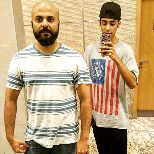 And the mirror selfie by #RockstarSaad