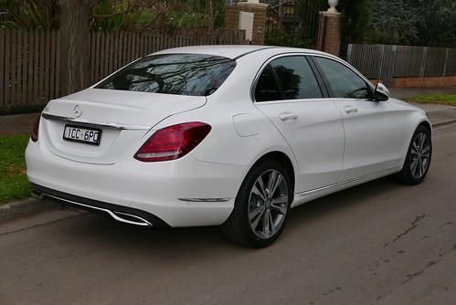 2015 Mercedes-Benz C 200 (W 205) sedan