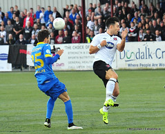 Champions League: Dundalk 0 - 0 BATE Borisov (ExtratimePhotos) Tags: richie towell