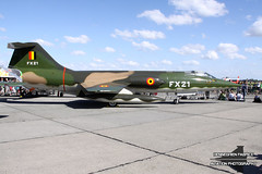 FX-21 - Lockheed F-104G Starfighter - Belgian Air Force (Fabke - Aviation Photography) Tags: fx21 lockheed f104g starfighter belgianairforce baf koksijde koksijdeab airplane airshowsbe preserved preservedairplane 2011 airshow historical