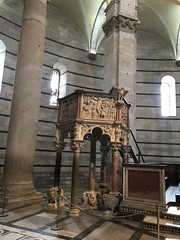 Battistero di San Giovanni Battista, Pisa.