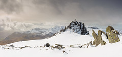 Snowdonia in Winter - Castell y Gwynt - Glyder Fach (Nick Livesey Mountain Images) Tags: