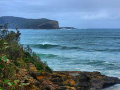 sml-fhdr-DSCN0088 (elphweb) Tags: roughseas roughsea ocean nsw australia sea water waves breakers storm coast coastal falsehdr fhdr bigwaves bigsurf surf foam mist