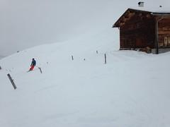 Sur le ski-route de Falera