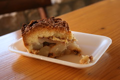 A portion of the best apple pie in Namibia (h_savill) Tags: namibia 2017 holiday vacation february safari africa national park solitaire desert valley wildlife blue sky bakery apple pie moose macgregors